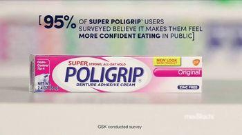 Super PoliGrip TV Spot, 'MediFacts: Eating in Public' - Thumbnail 5