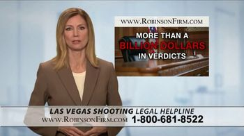 Robinson Firm TV Spot, 'Victims of the Las Vegas Shootings' - Thumbnail 10