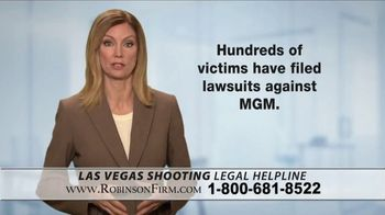 Robinson Firm TV Spot, 'Victims of the Las Vegas Shootings' - Thumbnail 3