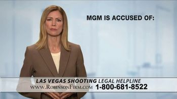 Robinson Firm TV Spot, 'Victims of the Las Vegas Shootings' - Thumbnail 4