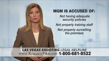 Robinson Firm TV Spot, 'Victims of the Las Vegas Shootings' - Thumbnail 5