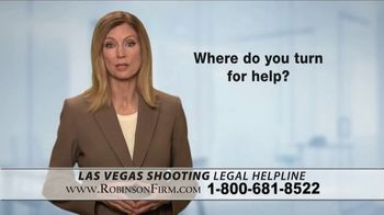 Robinson Firm TV Spot, 'Victims of the Las Vegas Shootings' - Thumbnail 6