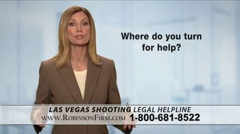 Robinson Firm TV Spot, 'Victims of the Las Vegas Shootings' - Thumbnail 7
