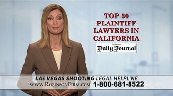 Robinson Firm TV Spot, 'Victims of the Las Vegas Shootings' - Thumbnail 8