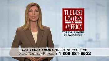 Robinson Firm TV Spot, 'Victims of the Las Vegas Shootings' - Thumbnail 9