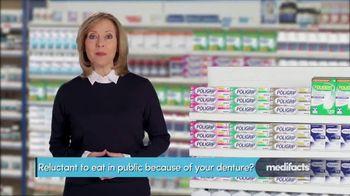 Super PoliGrip TV Spot, 'MediFacts: Eating in Public'