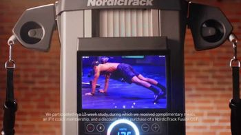 NordicTrack Fusion CST TV Spot, 'Get the Ultimate At-Home Workout' - Thumbnail 3