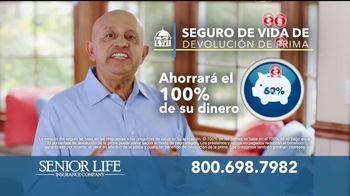 Senior Life Insurance Company TV Spot, 'Le devolvemos todo' [Spanish] - Thumbnail 2