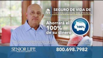 Senior Life Insurance Company TV Spot, 'Le devolvemos todo' [Spanish] - Thumbnail 3