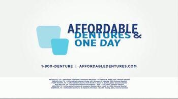 Affordable Dentures TV Spot, 'No More Excuses' - Thumbnail 8