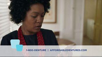 Affordable Dentures TV Spot, 'No More Excuses' - Thumbnail 2