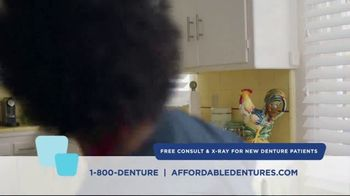 Affordable Dentures TV Spot, 'No More Excuses'