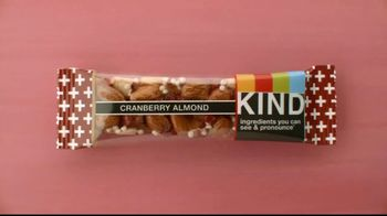 Cranberry Almond TV Spot, 'Give KIND Snacks a Try!' - Thumbnail 1