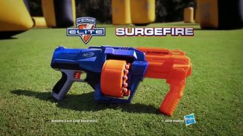 Nerf N-Strike Elite SurgeFire TV Spot, 'Rotating Drum and Slamfire' - Thumbnail 10