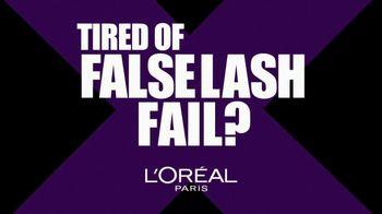 L'Oreal Paris XFiber Mascara TV Spot, 'No More Fail' - Thumbnail 1
