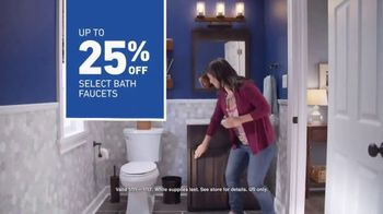 Lowe's TV Spot, 'The Moment: Bath Faucets' - Thumbnail 8