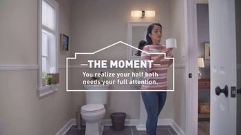 Lowe's TV Spot, 'The Moment: Bath Faucets' - Thumbnail 4