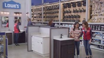 Lowe's TV Spot, 'The Moment: Bath Faucets' - Thumbnail 5