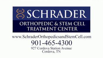Schrader Orthopedic & Stem Cell Treatment Center TV Spot, 'Tip for Pain' - Thumbnail 9