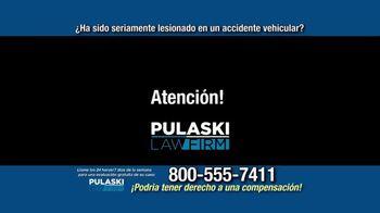 Pulaski Law Firm TV Spot, 'Accidente vehicular' [Spanish] - Thumbnail 1