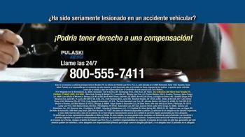 Pulaski Law Firm TV Spot, 'Accidente vehicular' [Spanish] - Thumbnail 9