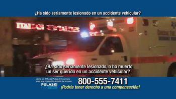 Pulaski Law Firm TV Spot, 'Accidente vehicular' [Spanish] - Thumbnail 2