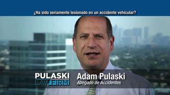 Pulaski Law Firm TV Spot, 'Accidente vehicular' [Spanish] - Thumbnail 7