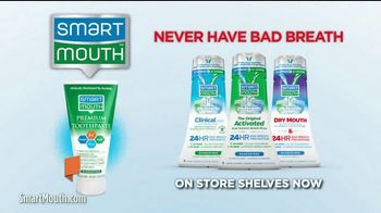Smart Mouth Activated Mouthwash TV Spot, 'Neutralize Smelly Sulfur Gas' - Thumbnail 7