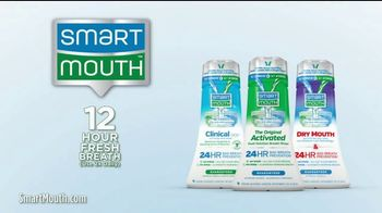 Smart Mouth Activated Mouthwash TV Spot, 'Neutralize Smelly Sulfur Gas' - Thumbnail 4