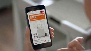 The Home Depot TV Spot, 'Haz un gran cambio en tu baño' [Spanish]