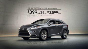 2017 Lexus RX TV Spot, 'Ahead of the Curve' [T2] - Thumbnail 9