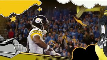 2018 NFL Playoffs TV Spot, 'Steelers Playoff Picture' Song by Rae Sremmurd - Thumbnail 5