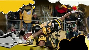2018 NFL Playoffs TV Spot, 'Steelers Playoff Picture' Song by Rae Sremmurd - Thumbnail 6