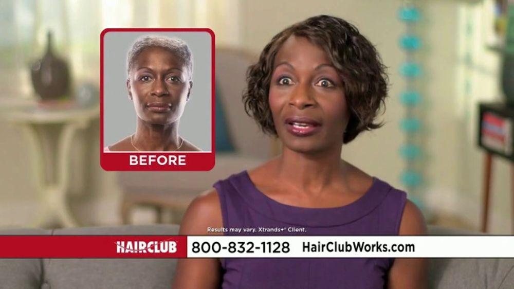 Hair Club TV Commercial, 'Overcome Female Hair Loss'