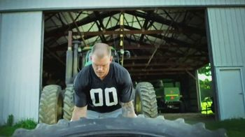 Land O'Lakes TV Spot, 'The Farm Bowl: Kyle Rudolph vs. a Tire' - Thumbnail 2