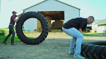Land O'Lakes TV Spot, 'The Farm Bowl: Kyle Rudolph vs. a Tire' - Thumbnail 5
