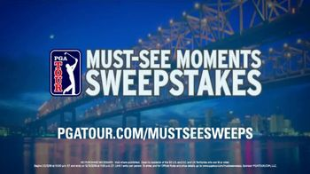 PGA TOUR Must-See Moments Sweepstakes TV Spot, 'New Orleans' - Thumbnail 9