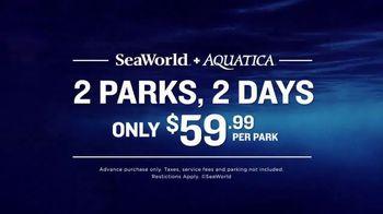 SeaWorld + Aquatica TV Spot, 'Don't Settle for Just One' - Thumbnail 7