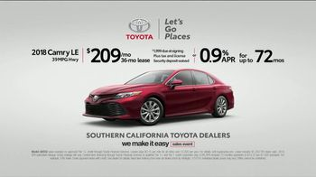 Toyota We Make It Easy Sales Event TV Spot, 'This Isn't Your Mom's Camry' [T2] - Thumbnail 5