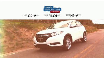 Honda Memorial Day Sales Event TV Spot, 'Award' [T2] - Thumbnail 2