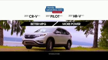 Honda Memorial Day Sales Event TV Spot, 'Award' [T2] - Thumbnail 3