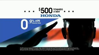Honda Memorial Day Sales Event TV Spot, 'Award' [T2] - Thumbnail 6