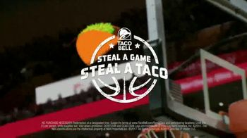 Taco Bell Steal a Game, Steal a Taco TV Spot, 'It's Raining Tacos!' - Thumbnail 10