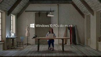 Microsoft Windows 10 TV Spot, 'Angela Makes Clothes That Make a Difference' - Thumbnail 7