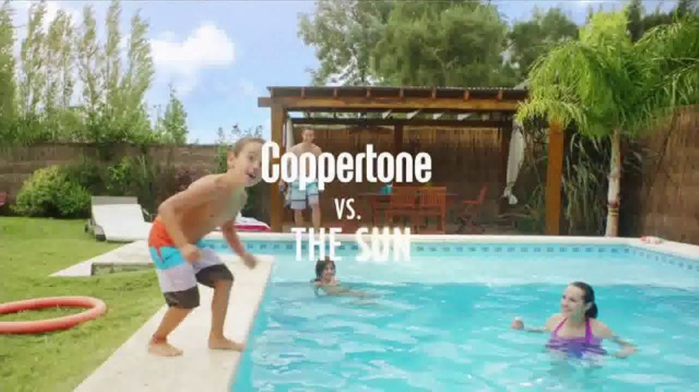 Coppertone TV Commercial, 'The Pool'