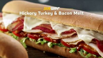 Subway Hickory Turkey & Bacon Melt TV Spot, 'Mix Things Up' - 124 commercial airings