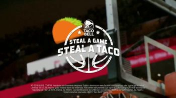 Taco Bell Steal a Game, Steal a Taco TV Spot, 'Warriors' [Spanish] - Thumbnail 6