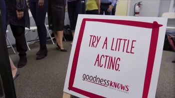 goodnessKNOWS TV Spot, 'Try Acting: Keerit' - Thumbnail 1