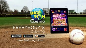 Big Fish Casino TV Spot, 'Jackpot: Free Slots: Fishies Take the Field' - Thumbnail 9