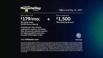 Volkswagen Memorial Day Event TV Spot, 'Open House: 2017 Jetta S' [T2] - Thumbnail 10